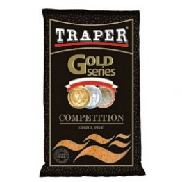 Прикормка TRAPER GOLD 1 кг Competition (коричневый, черный)